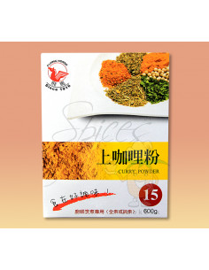 POLVO CURRY 600G -...