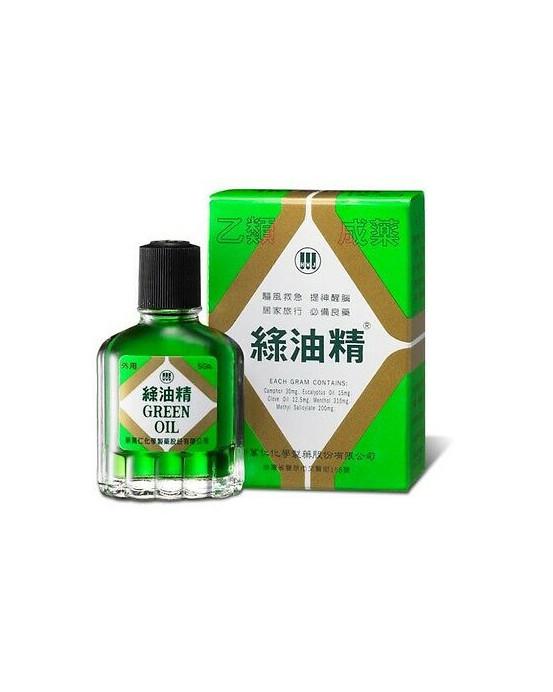GREEN OIL 5GM - 綠油精5GM
