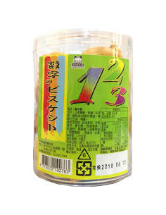 罐裝數字餅120g
