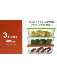 - 方型3入保鮮盒