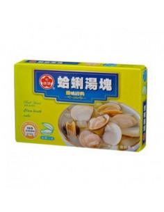 牛頭牌蛤蜊湯塊11g*6粒
