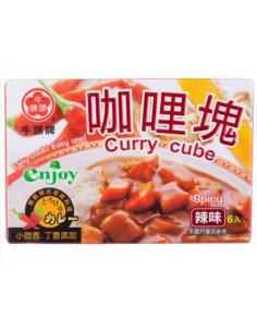 牛頭牌辣味咖哩塊 66g/盒