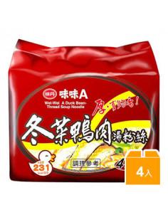 - 冬菜鴨肉湯粉絲(袋)4包入