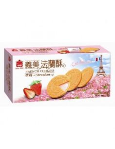 - 義美法蘭酥(量)草莓132g