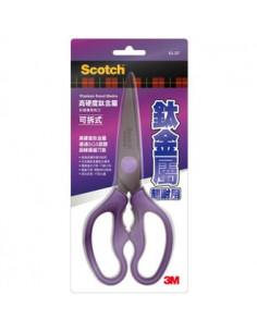 - 3M可拆式鈦金屬料理剪刀