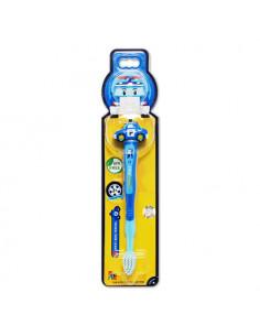 - 波力立體兒童牙刷-波力造型