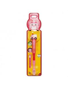 - 波力立體兒童牙刷-安寶造型