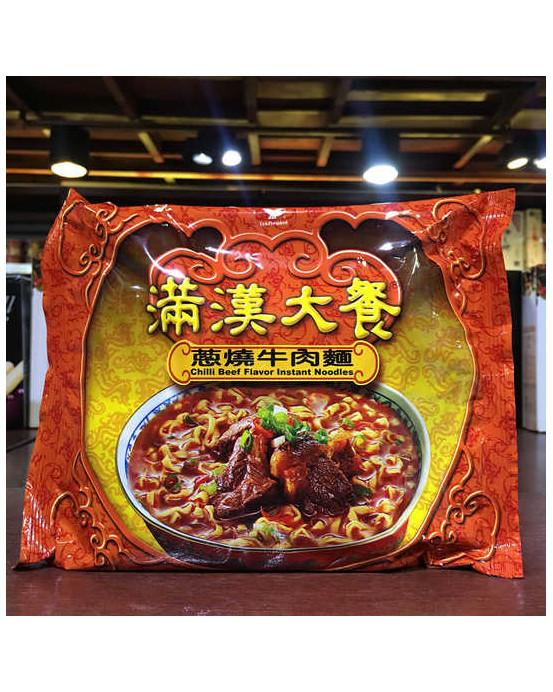FIDEOINSTANTANEOUS - 滿漢大餐蔥燒牛肉200g包