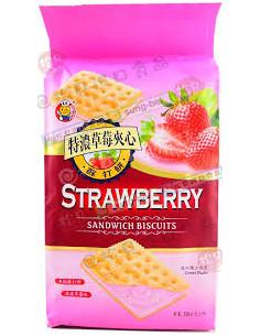 特濃草莓夾心餅