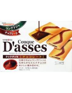 D'ASSES CHOC  - 三立薄餅盒 巧克力
