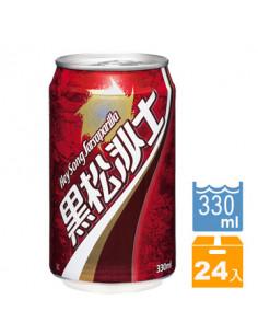 黑松沙士330ml易開罐(24入/箱)