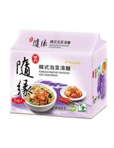FIDEO INSTANT - 隨緣 韓式泡菜湯麵5包入