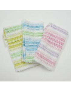- 3593 雙色澡巾24*100cm/共三色