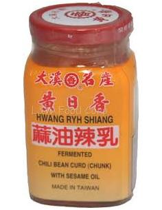 黃日香辣油辣腐300g
